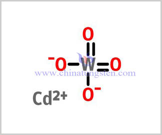 structure of Cadmium Tungstate