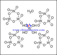 silicotungstic acid hydrate molecular structure picture